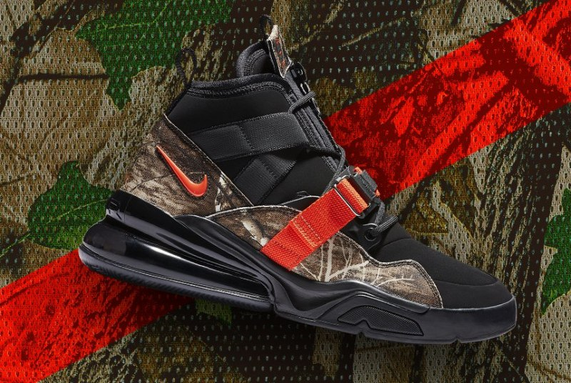"sports shoes f1d2a 06093 Nike Air Force 270 ""Realtree"" Review"