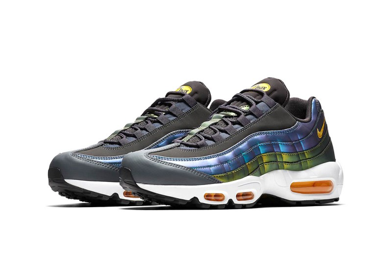 Nike Air Max 95 Pearlescent Blue & Gold 1