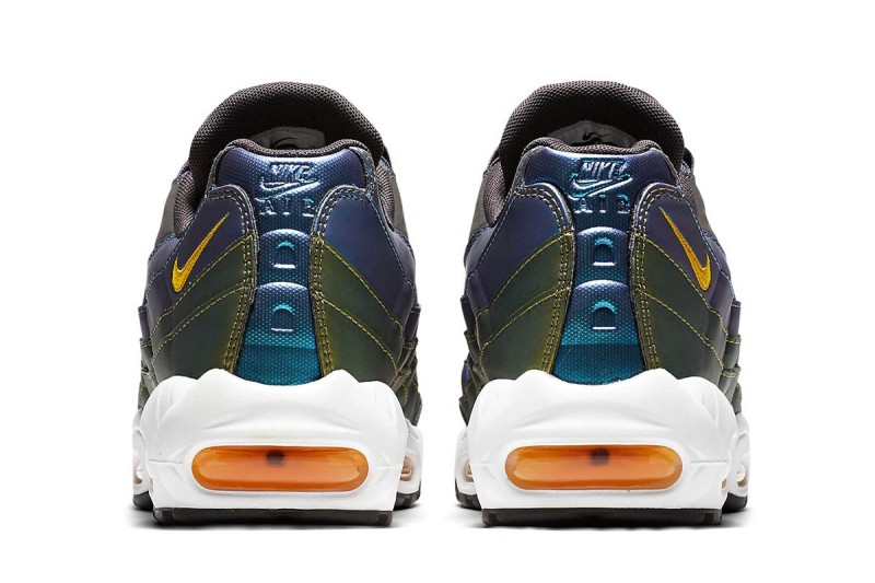 Nike Air Max 95 Pearlescent Blue & Gold 2