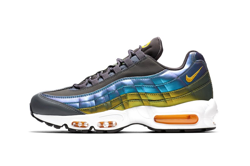 Nike Air Max 95 Pearlescent Blue & Gold