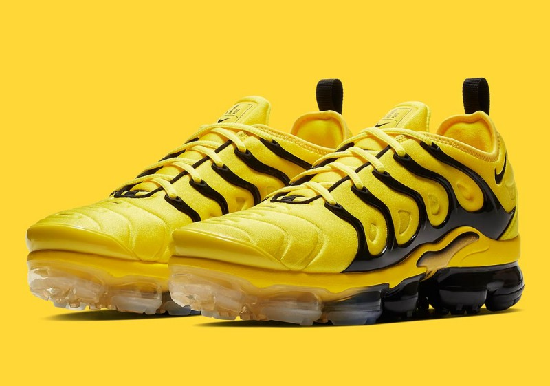 "948943562ed17 Nike Air VaporMax Plus ""Yellow Black - Bumblebee"" Review"
