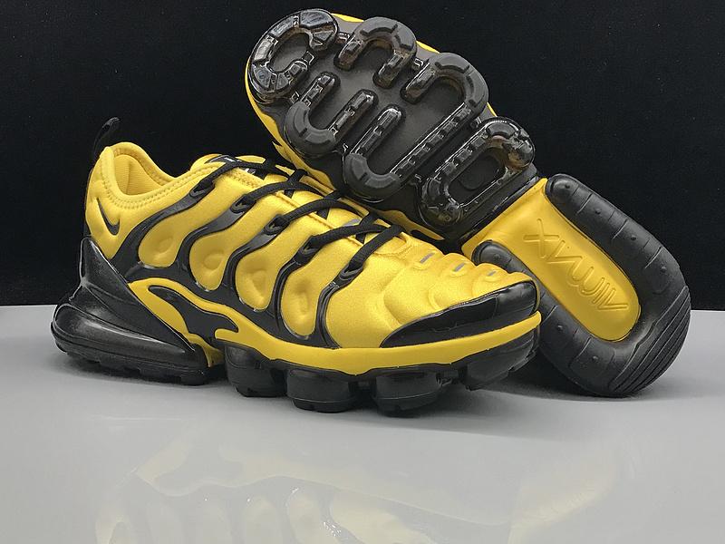 "Nike Air VaporMax Plus ""Yellow:Black"" 9"