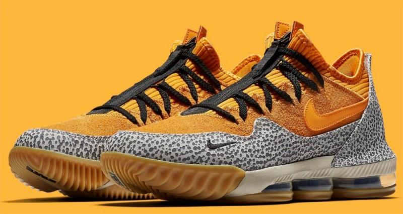 Nike LeBron 16 Low Safari 1