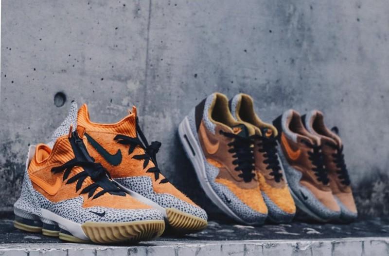 Nike LeBron 16 Low Safari 10