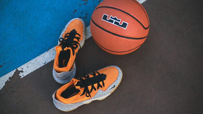 Nike LeBron 16 Low Safari 7