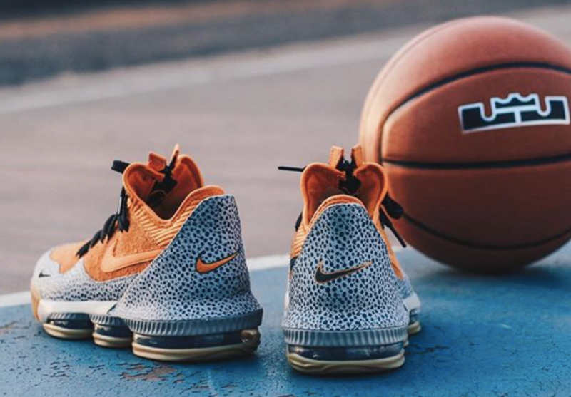 Nike LeBron 16 Low Safari 8
