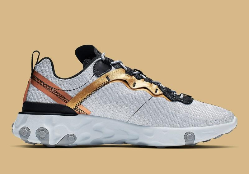 Nike React Element 55 Gold Ranger 2