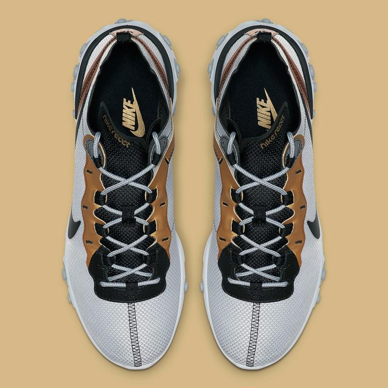 Nike React Element 55 Gold Ranger 3