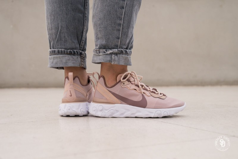 Nike React Element 55 Particle Beige 2