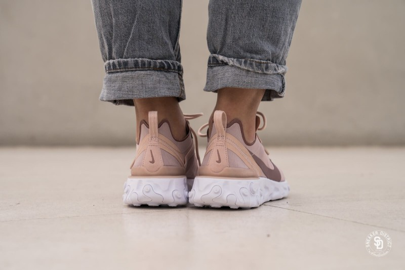 Nike React Element 55 Particle Beige 3