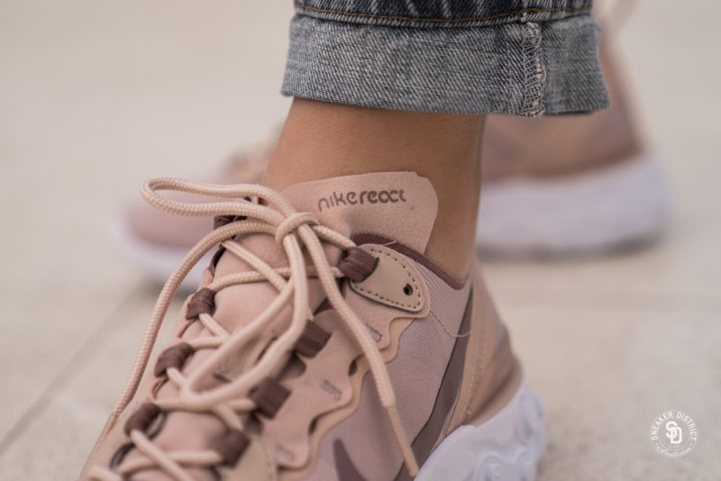 Nike React Element 55 Particle Beige 4
