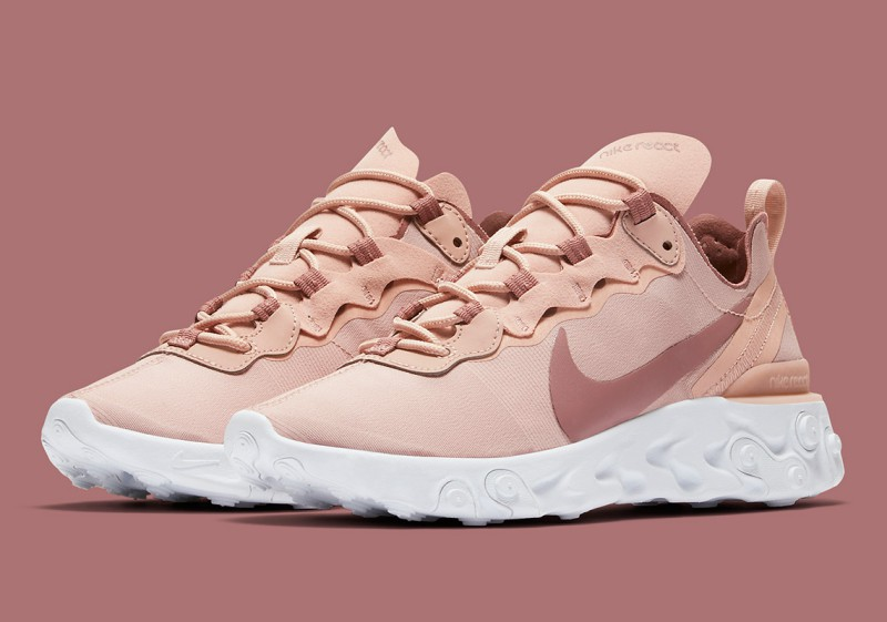 Nike React Element 55 Particle Beige 6