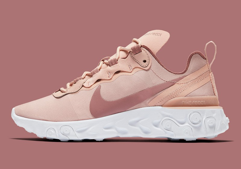 Nike React Element 55 Particle Beige 7