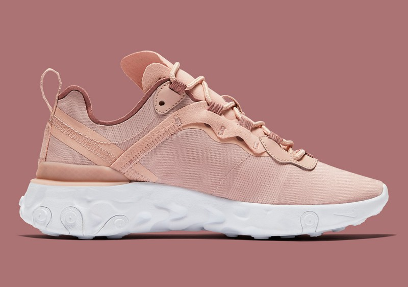 Nike React Element 55 Particle Beige 8