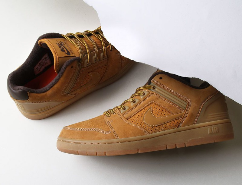 "Nike SB Air Force Low 2 ""Premium Wheat"" 1"