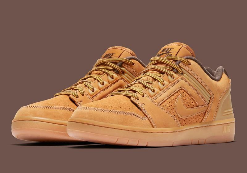 "Nike SB Air Force Low 2 ""Premium Wheat"" 2"