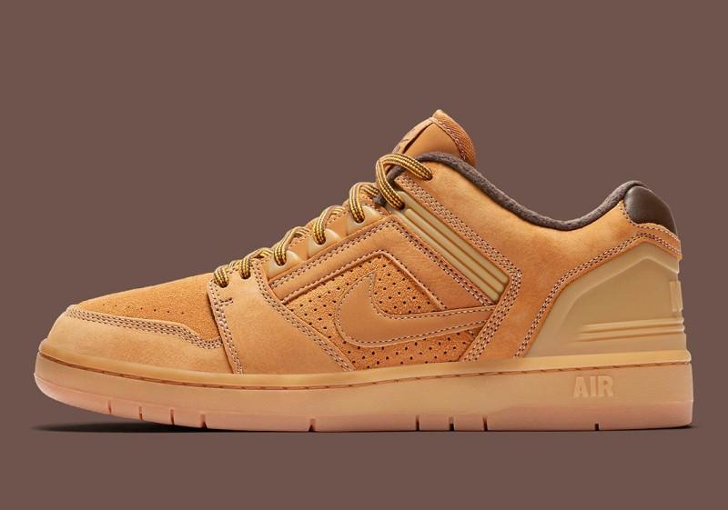 "Nike SB Air Force Low 2 ""Premium Wheat"" 3"
