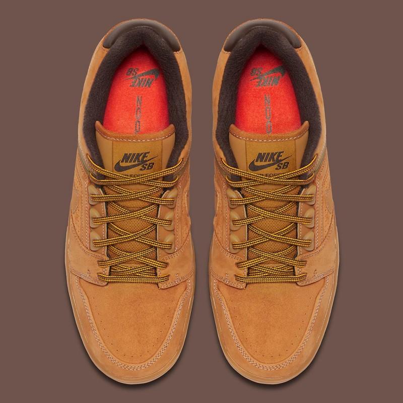 "Nike SB Air Force Low 2 ""Premium Wheat"" 5"