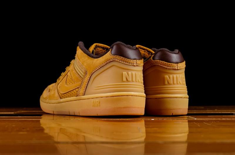 "Nike SB Air Force Low 2 ""Premium Wheat"" 6"