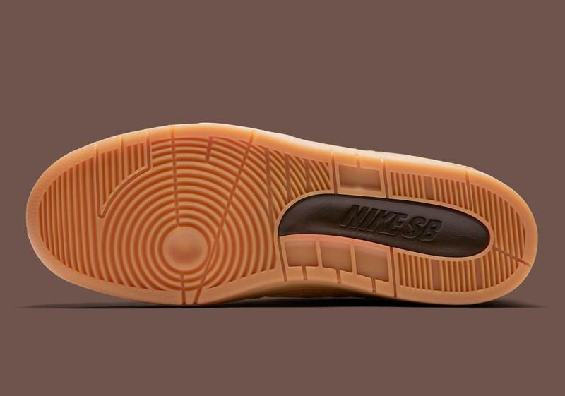 "Nike SB Air Force Low 2 ""Premium Wheat"" 7"