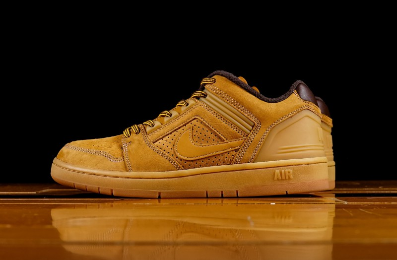 "Nike SB Air Force Low 2 ""Premium Wheat"" 8"