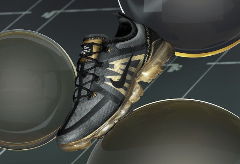 Nike VaporMax 2019 Black:Gold