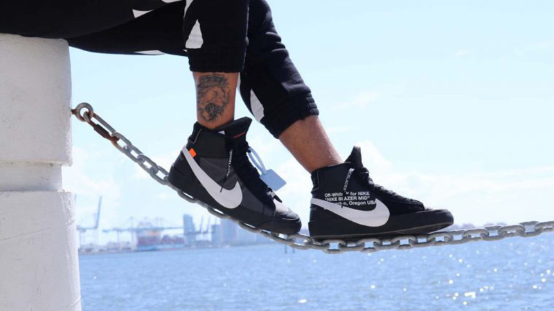 "Off-White™ x Nike Blazer Mid Grim Reaper"""