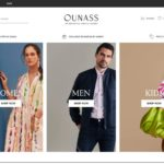 Ounass home page screenshot on March 29, 2019