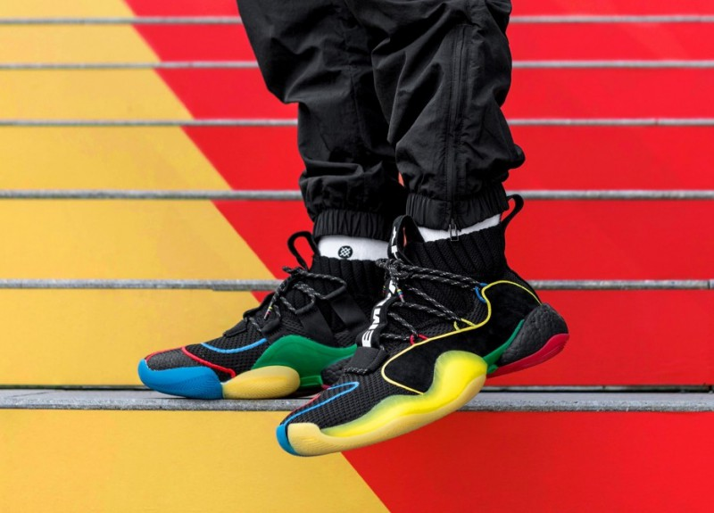 "ca96e687fb956 Pharrell x Adidas Crazy BYW X ""Gratitude Empathy"" Review"