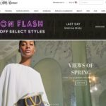Saks Fifth Avenue home page screenshot on March 29, 2019