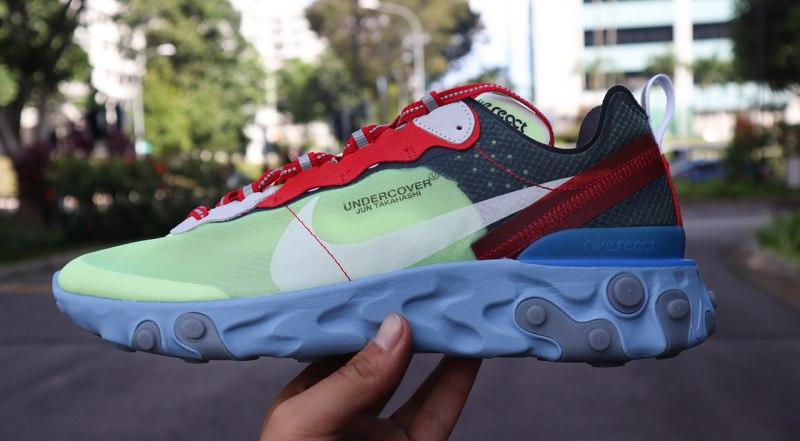 UNDERCOVER x Nike React Element 87 Volt 1