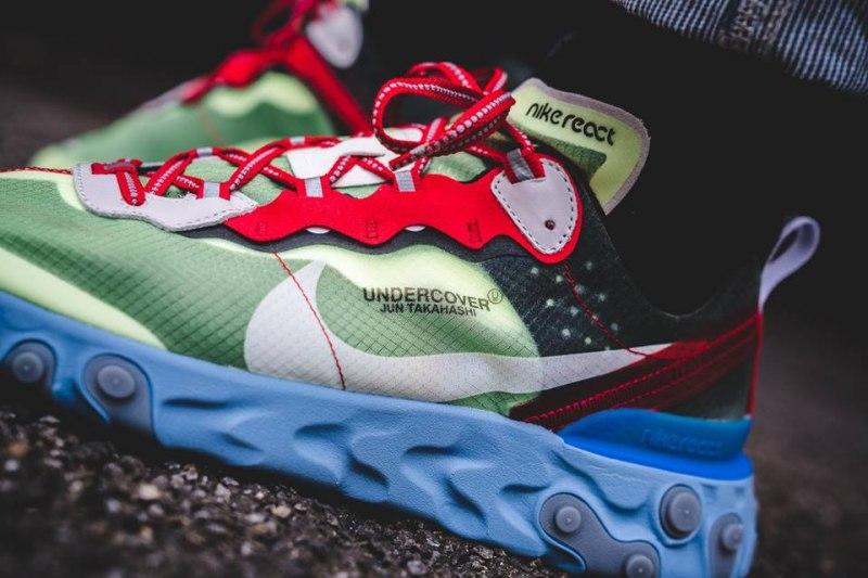 UNDERCOVER x Nike React Element 87 Volt 10