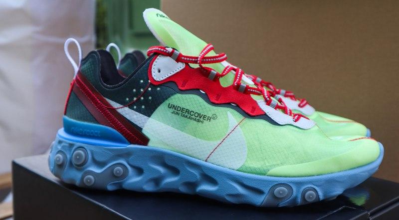 UNDERCOVER x Nike React Element 87 Volt 3