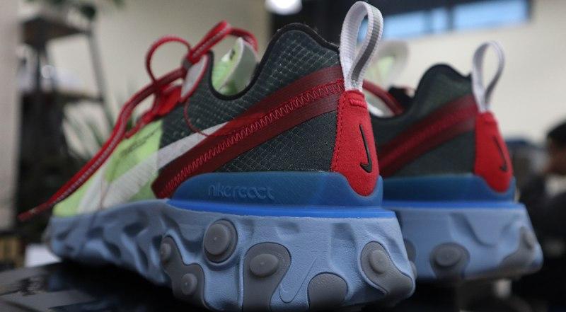 UNDERCOVER x Nike React Element 87 Volt 7