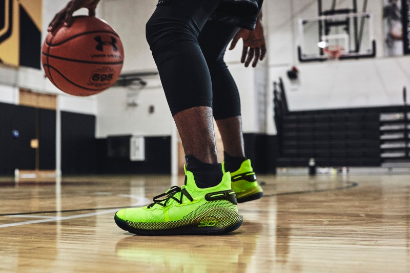 """Under Armour Curry 6 """"Coy Fish"""" 5"""