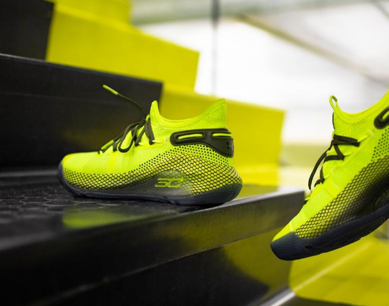 """Under Armour Curry 6 """"Coy Fish"""" 7"""