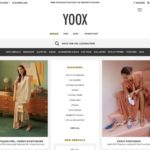 YOOX home page screenshot on March 28, 2019