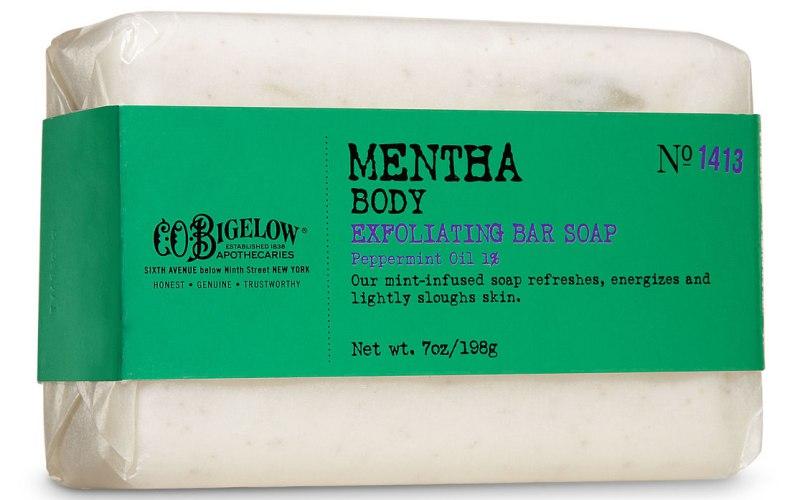 C.O. Bigelow Mentha Exfoliating Body Soap