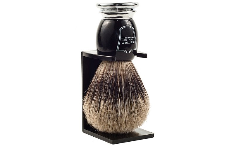 Parker Deluxe Pure Badger Shaving Brush
