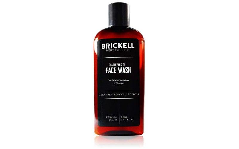 Brickell Men's Clarifying Gel Face Wash