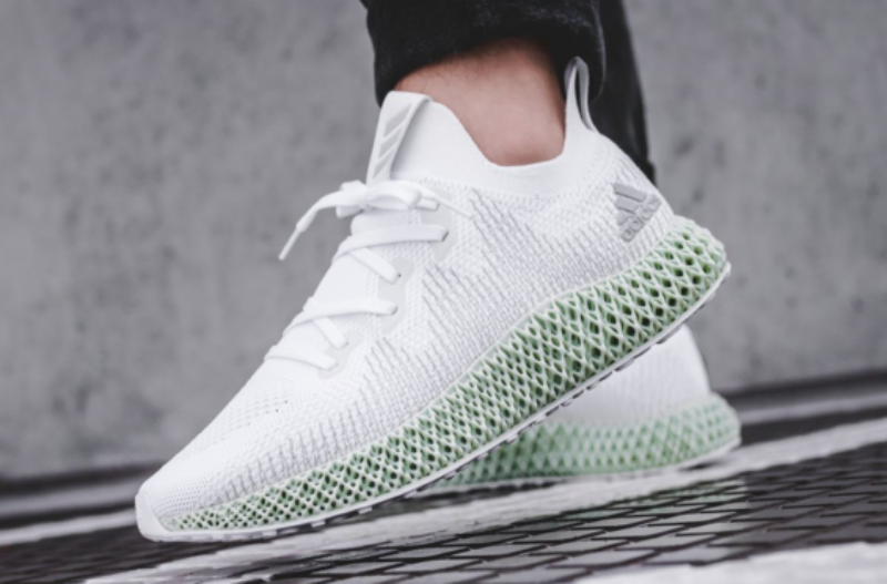 new products f2f67 02a44 Adidas AlphaEdge 4D 'Footwear White' Review
