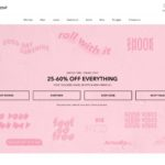 American Eagle Outfitters home page screenshot on April 13, 2019
