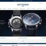 Bucherer home page screenshot on April 16, 2019