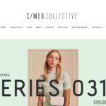 C:Meo Collective home page screenshot on April 24, 2019