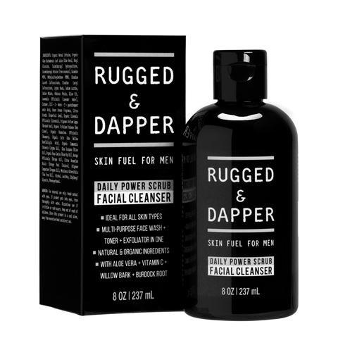 Rugged & Dapper Daily Power Scrub Facial Cleanser 1