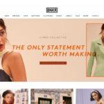 Fashion Bunker home page screenshot on April 26, 2019