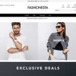 Fashionesta product page screenshot on April 4, 2019