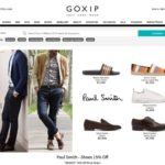 Goxip home page screenshot on April 20, 2019