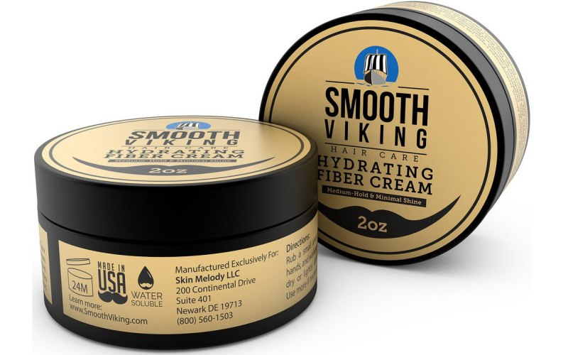 Smooth Viking Hair Care Hydrating Fiber Cream