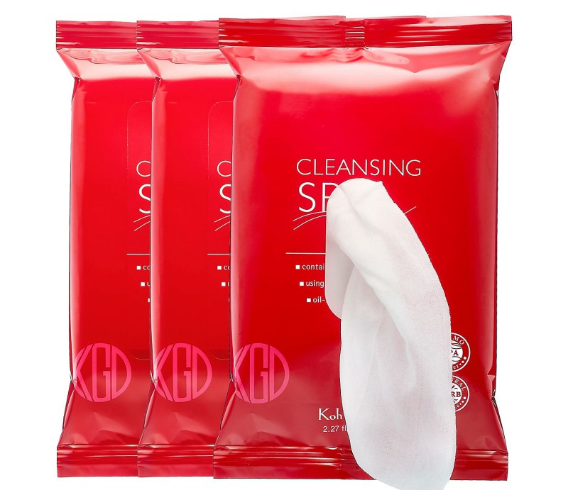 Koh Gen Do Cleansing Spa Water Cloths 1